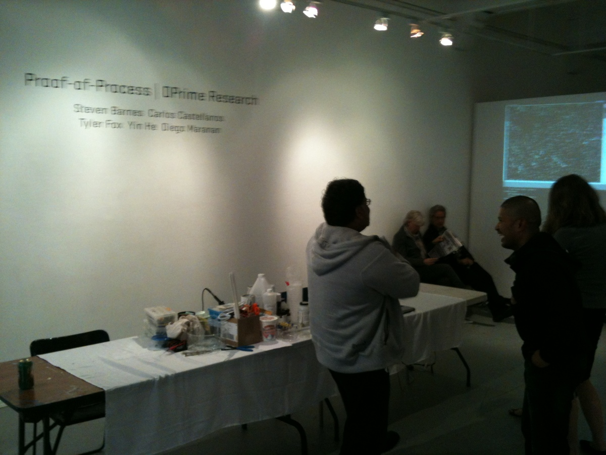 Proof-of-Process: Final Exhibition Event
